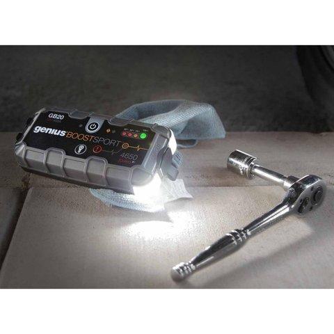Пускозарядное устройство для автомобильного аккумулятора GB20 Превью 4