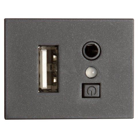 Модуль для подключения USB для Ford 6000CD MP3+USB (черный) Превью 1