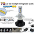 Car LED Headlamp Kit UP-7HL-H3W-4000Lm (H3, 4000 lm, cold white) - Preview 3