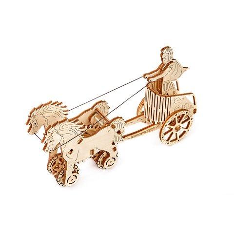 Механічний 3D-пазл Wooden.City Римська колісниця