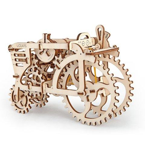 Механический 3D-пазл UGEARS Трактор - Просмотр 3