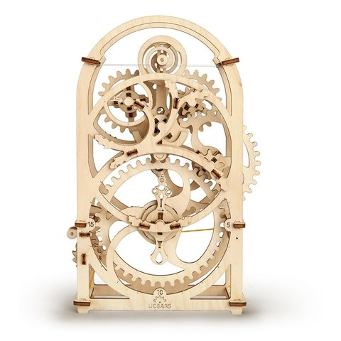 Mechanical 3D Puzzle UGEARS Timer Preview 1
